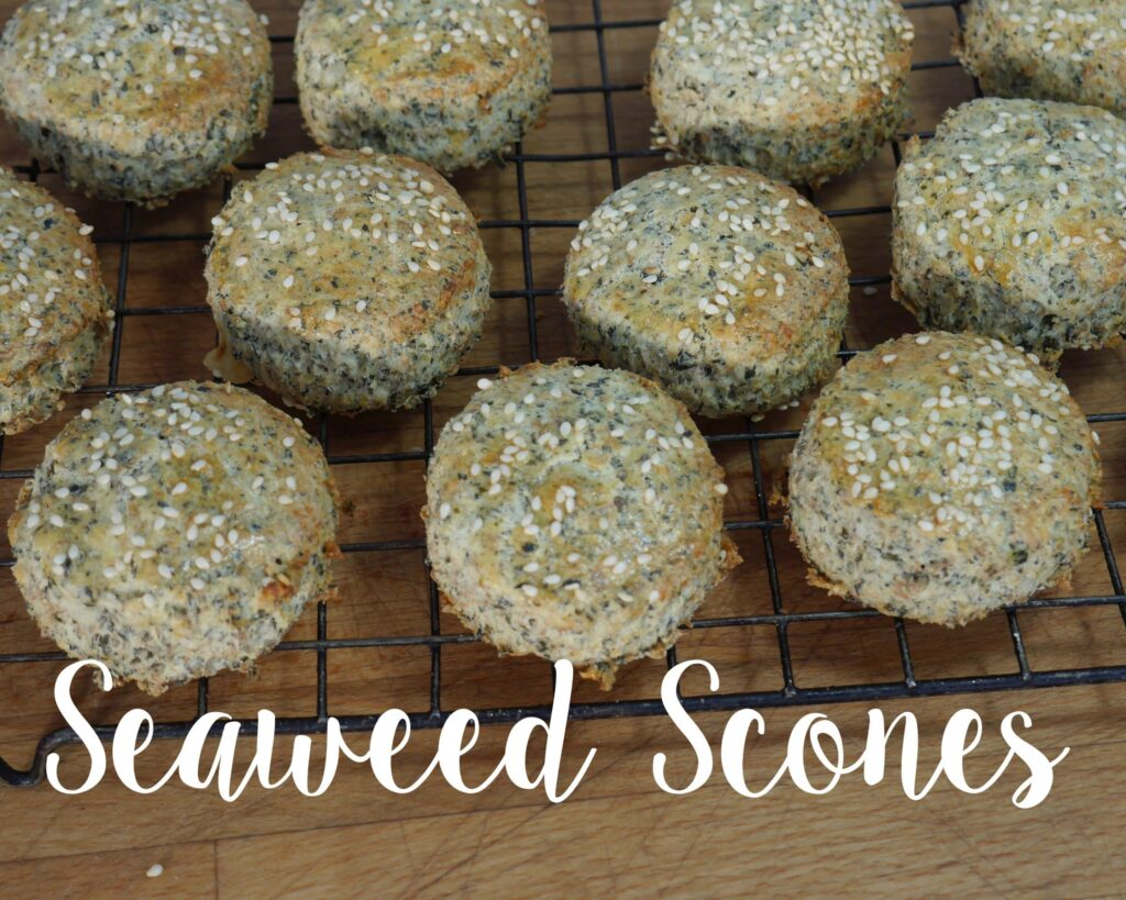 seaweed scones recipes year of food NI