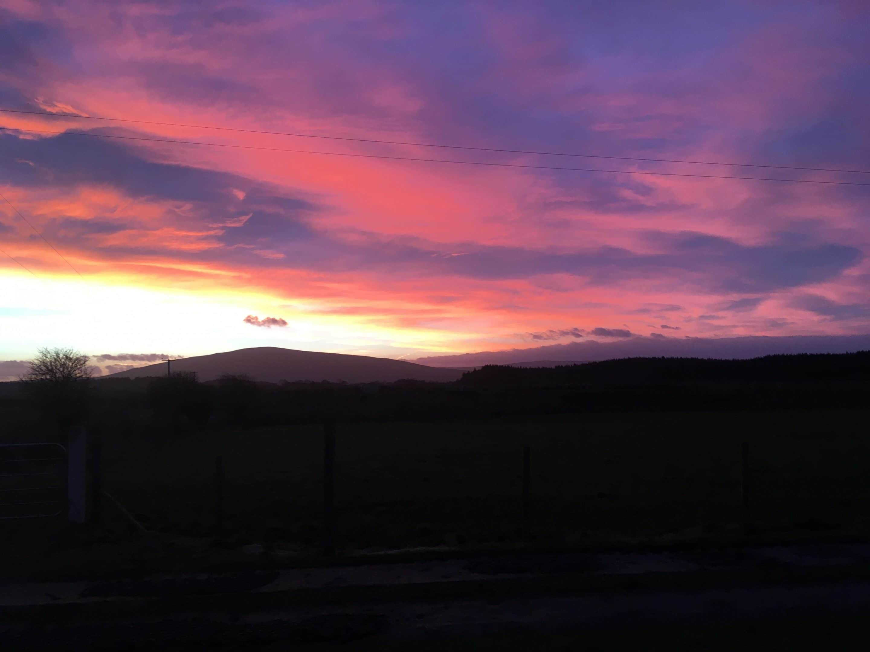 Sunrise Over Knocklayde