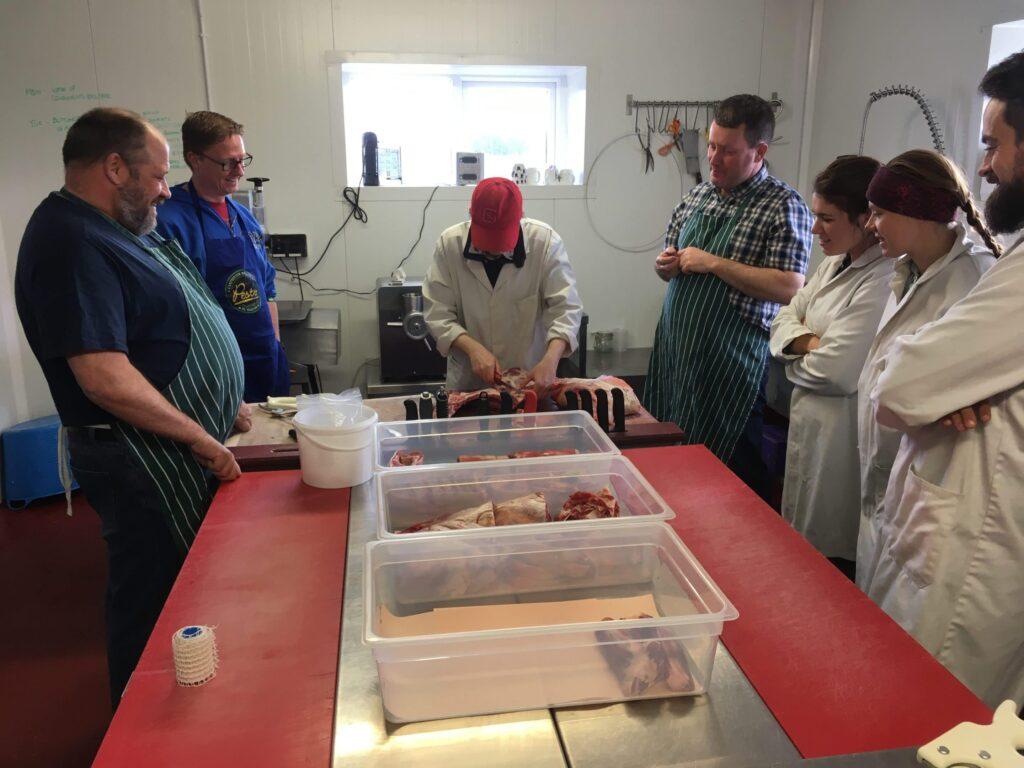 Broughgammon Butchery Class Demonstration