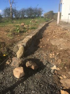 Traditional Edging Stones for The Herb Garden