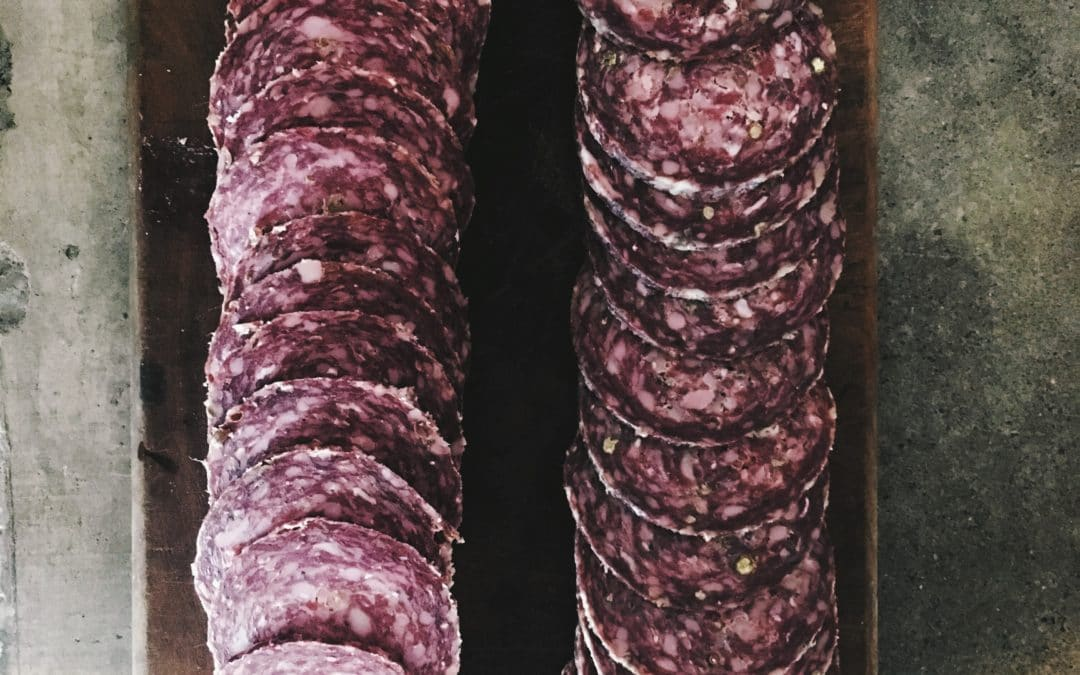 Our Artisan Rose Veal Salami is Here!